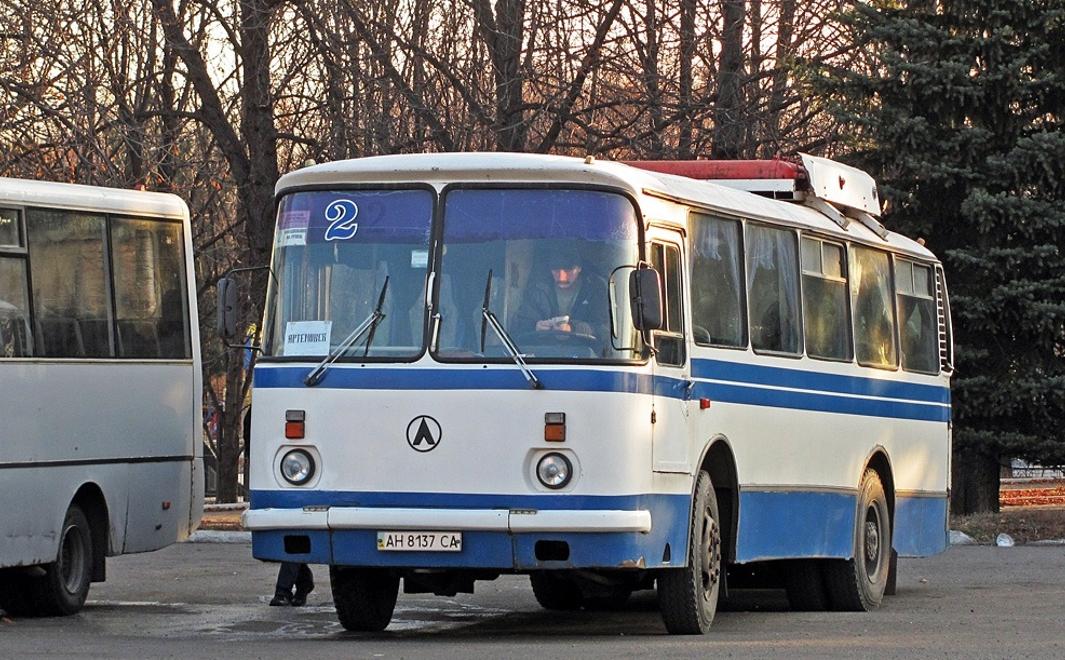 Маршрут автобуса №2 в Горловке продлили до жилмассива «Комсомолец»