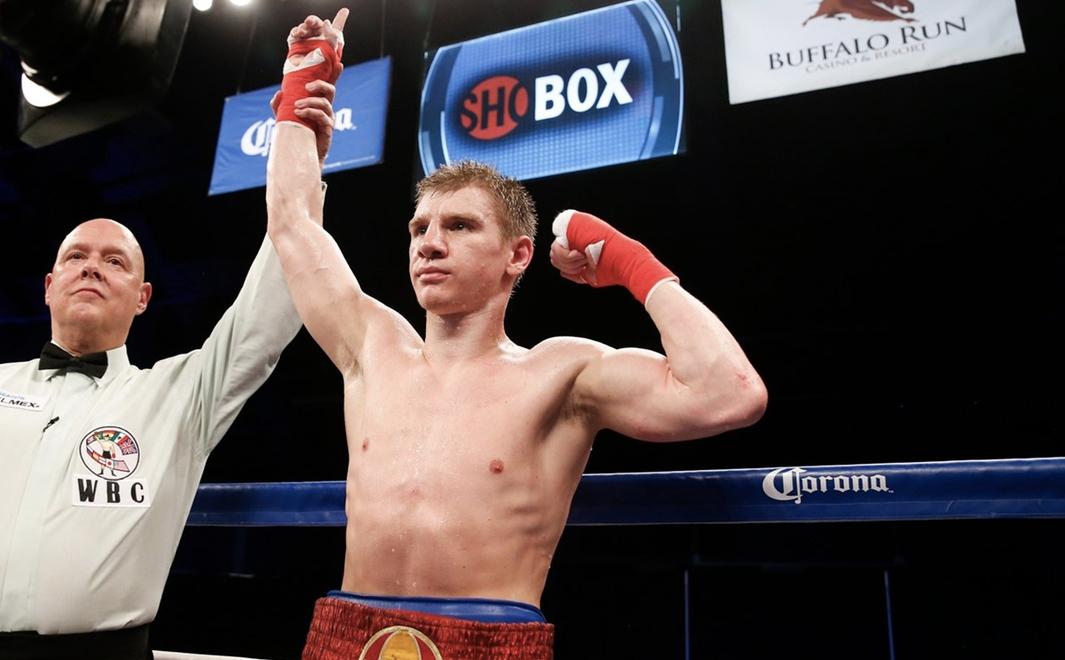 Горловчанин Голуб вошел в пятерку перспективных боксеров года по версии ESPN