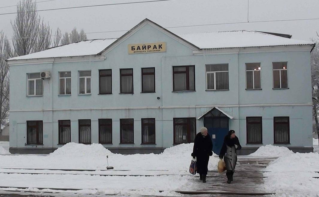Железнодорожники восстановили контактную сеть на перегоне Горловка – Байрак