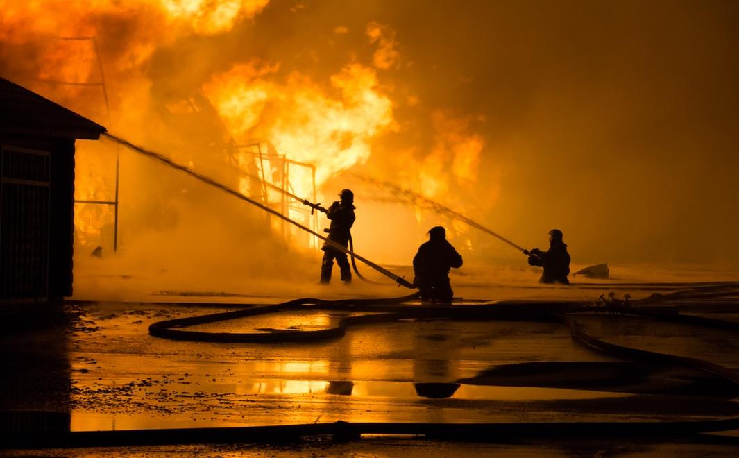 За сутки в результате пожаров в домах в Горловке погибли 6 горожан