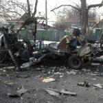 МВД: Во взорвавшемся в Донецке микроавтобусе находилось взрывчатое вещество