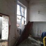 В Гольмовском в результате обстрела повреждено 3 дома, здание поссовета, котельная и газопровод