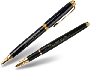 Ручка с гравировкой в подарок мужчине