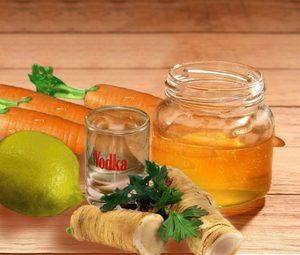 Водка с медом