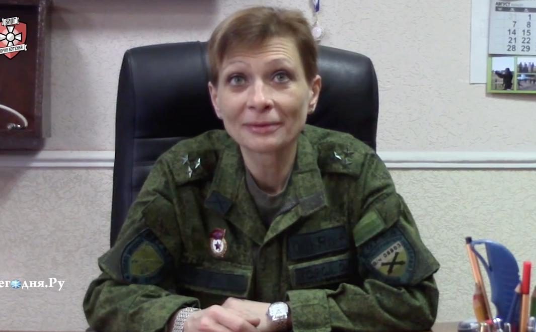 Известная террористка поведала, как вела обстрелы под украинским флагом