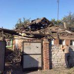 В поселке Гагарина обстрелом поврежден дом