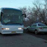 На КПВВ «Майорск» украинская полиция оштрафовала 13 перевозчиков