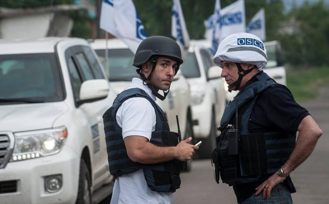 ОБСЕ сообщила об обстреле сотрудников СММ под Горловкой со стороны украинских военных