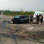 На трассе Горловка –Бахмут крупное ДТП. Погибли 3 человека, семероранены