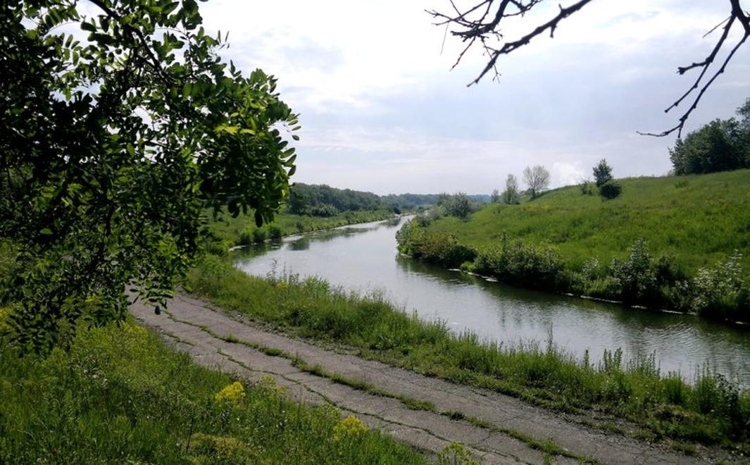В канале «Северский Донец – Донбасс» в Горловке нашли труп мужчины