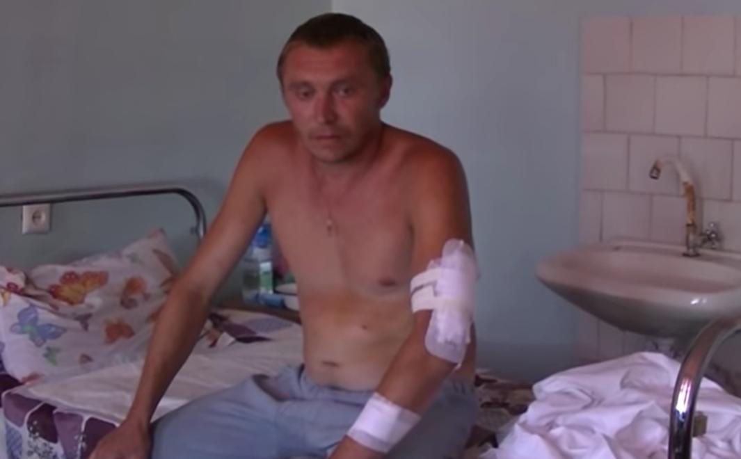 В поселке Чигари обстрелом ранен мирный житель, который не был мирным жителем