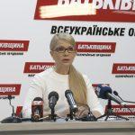 Тимошенко рассказала о переговорах Порошенко с руководством ДНР и ЛНР