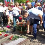 Жители Горловки почтили память погибших горожан при первом обстреле города в 2014 году