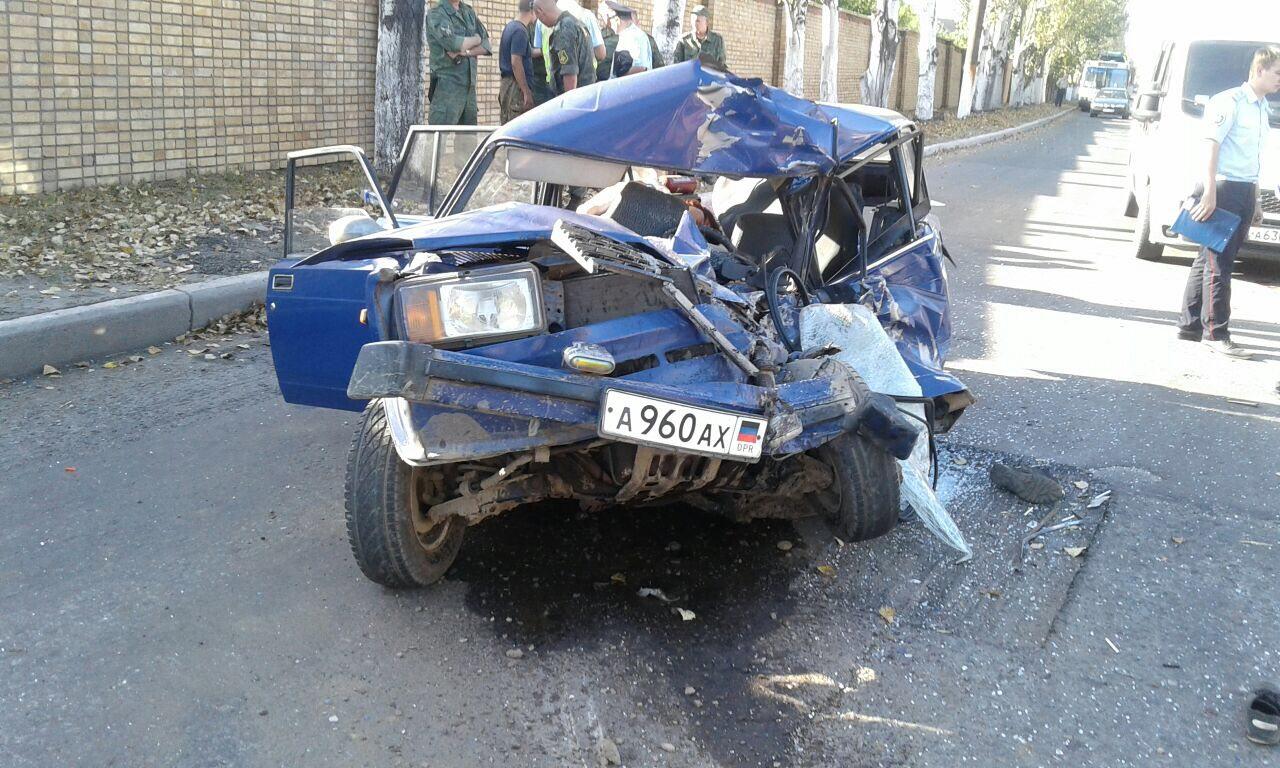 ДТП в центре Горловки: два человека погибли, один — в тяжелом состоянии