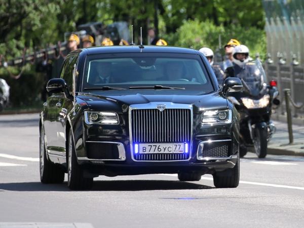 Как оценила Германия новый автомобиль марки Aurus