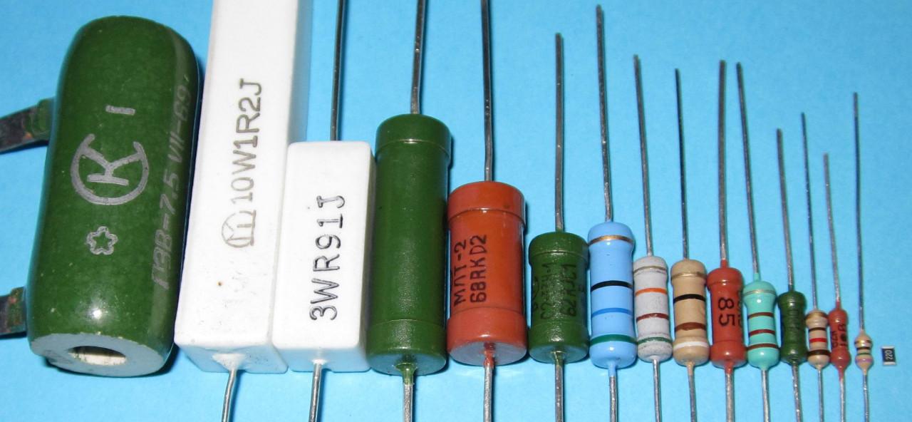 Что такое резистор и где его используют