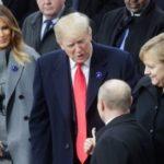 Путину и Трампу не дали сесть рядом в Елисейском дворце