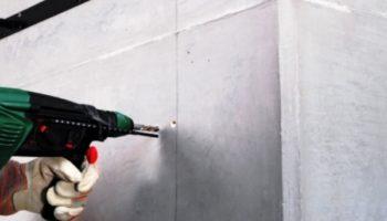 Небольшие хитрости как просверлить бетон без особых проблем