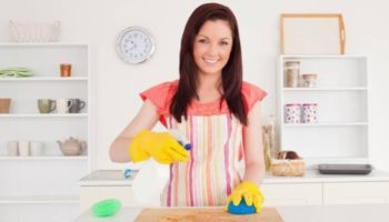 Как отмыть гарнитур без царапин