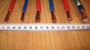 Как легко проверить сечение электропровода