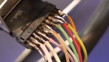 Как не стоит соединять сварочный кабель