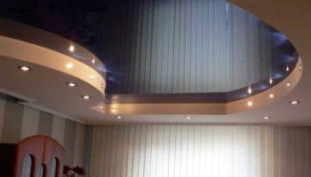 Почему не стоит выбирать глянцевый потолок