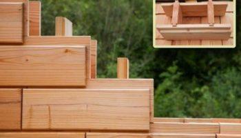Зачем придумали деревянные кирпичи