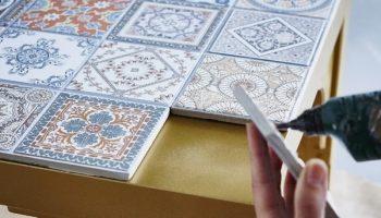 Необычное использование керамической плитки