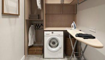 4 варианта установки стиральной машинки в хрущёвке, о которых вы не догадывались