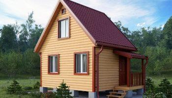 Наиболее выгодная и дешевая постройка дачного домика