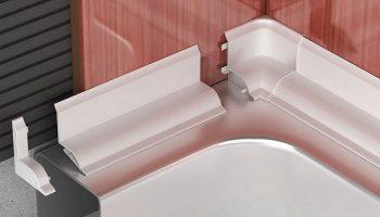 Почему герметик не заменит бордюры у ванны
