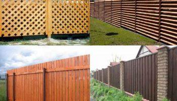 Из чего сделать дешевый забор на участке