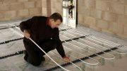 Почему не нужно выравнивать плиту под теплый пол