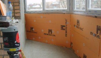 Почему не нужно утеплять боковые стены лоджии