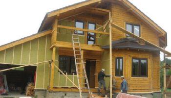 Какой утеплитель мало эффективен для дома из деревянного бруса?