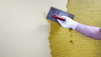 Как исправить цвет декоративной штукатурки
