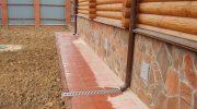 Чем лучше всего покрыть бетонную отмостку вокруг дома