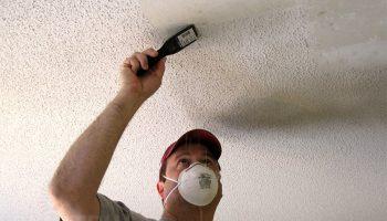 Как быть если после высыхания на потолке пятна и разводы от краски