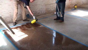 Какая краска не подойдет для бетонного пола в гараже