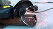 Как правильно разрезать стальную трубу под углом в 45⁰