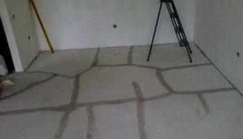 Как вернуть прочность бетонной стяжке если она крошится и трескается