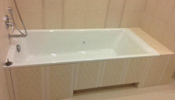 Почему не стоит устанавливать ванну прямо в пол