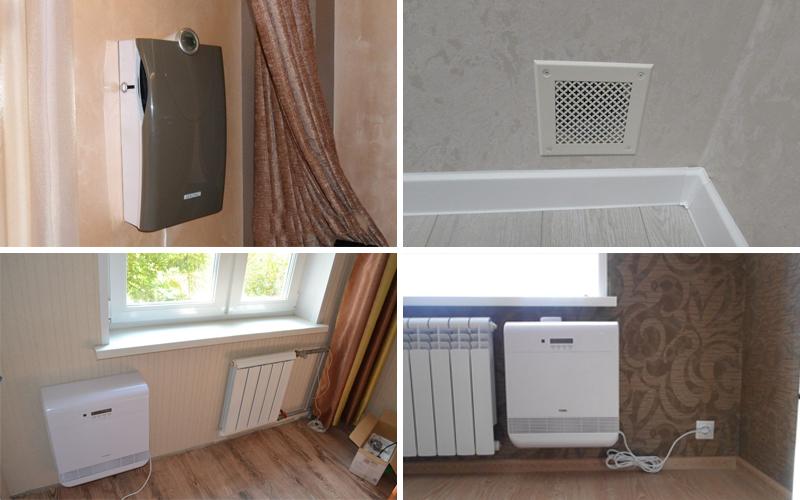 Вентиляция и е виды в комнате без окон