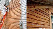 Как уберечь от гниения дом с деревянными элементами