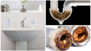 Легкие способы очистить канализацию от волос