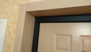 Что делать если доборы не встают в дверную коробку