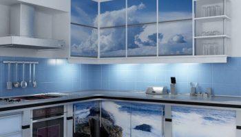 Как пленкой обновить старый кухонный гарнитур