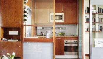 Какой материал использовать для легкой перегородки между кухней и стеной