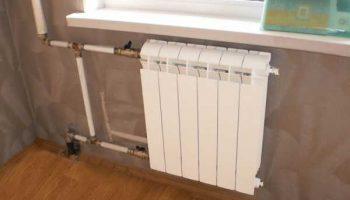 Как правильно отключить стояк отопления для замены радиатора