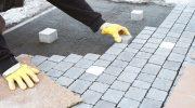 Как уложить тротуарную плитку прямо на бетон